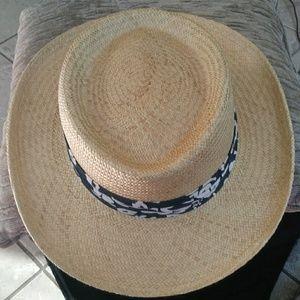 Dorfman Pacific Scala Classico Handmade Straw Hat